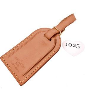 Authentic Louis Vuitton Luggage Tag #1025